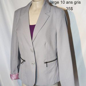 3for25$ NWT gray blazer large